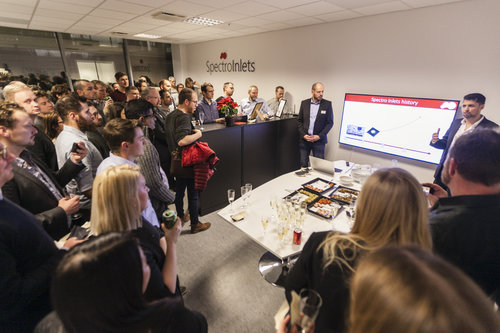 Reception at our new offices