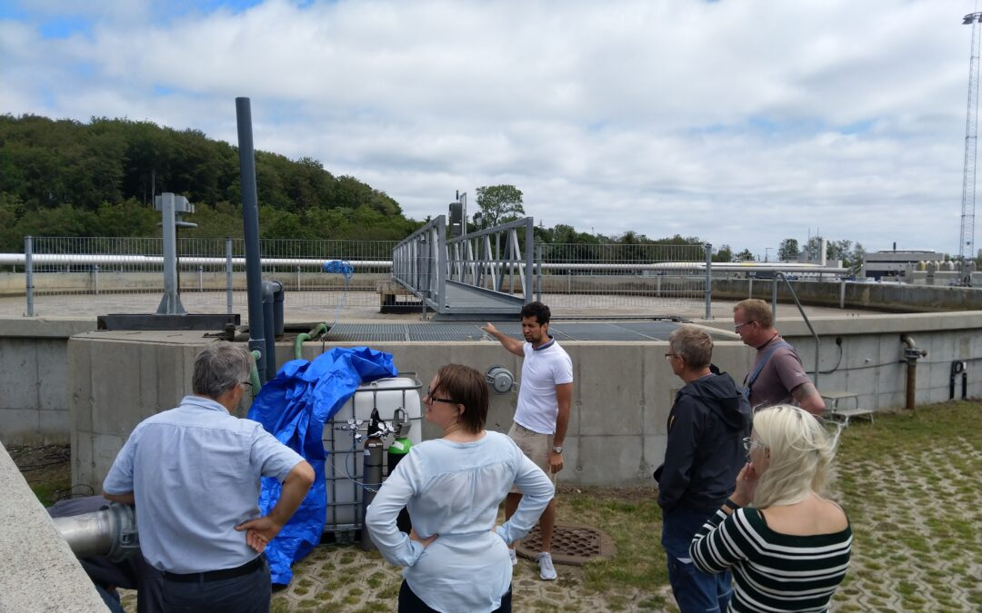 Online mass spectrometer monitoring at Fredericia Wastewater and Energy