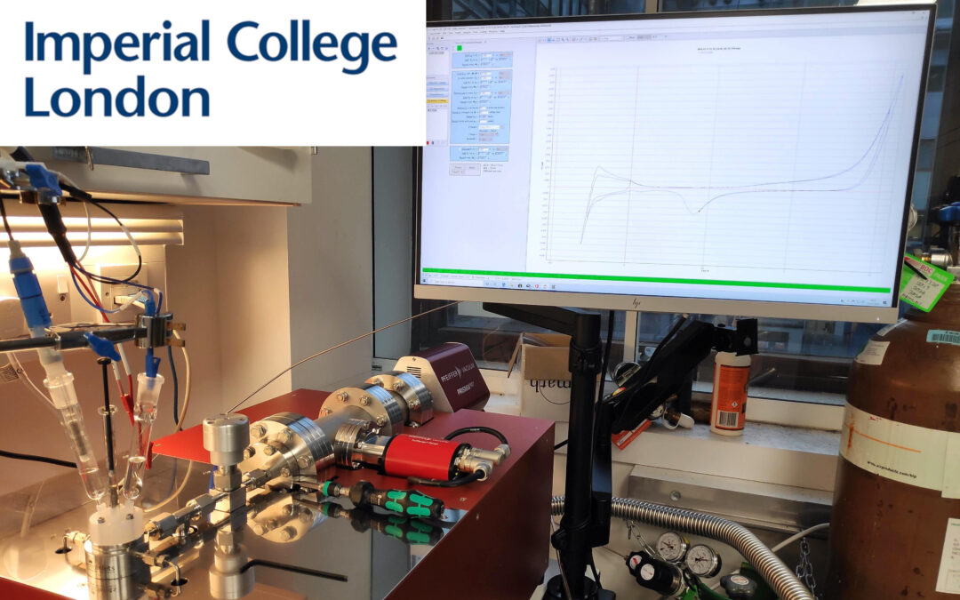 Delivery of an EC-MS system to Imperial College London