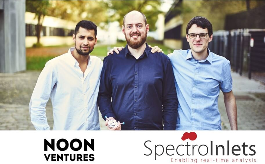 Spectro Inlets closes a seed-funding round led by Copenhagen-based NOON Ventures